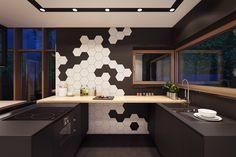 deco-loft-luxe-carrelage-hexagonal-noir-blanc-cuisine.jpg (750×500)
