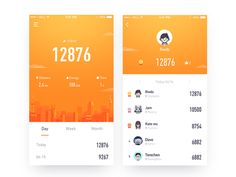 Run 2 designed by Rwds. Connect with them on Dribbble; the global community for designers and creative professionals. Interface Design, User Interface, Ux Design, Game Design, Android Design, Run 2, Mobile Ui Design, Ui Web, Ui Inspiration