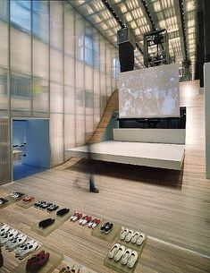 Prada Store New York By Rem Koolhaas http://thewhitecave.wordpress.com/2014/04/22/prada-store-new-york-by-rem-koolhaas/