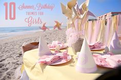 Birthday parties for girls only