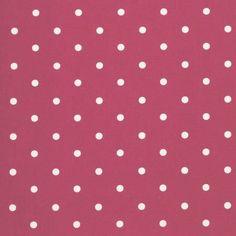 Dotty Red Fabric