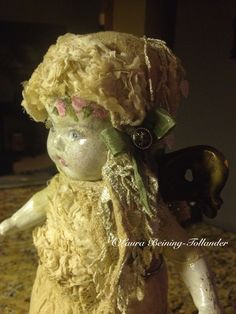 Assemblage Doll By : Laura Beining-Tollander