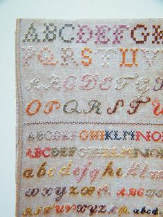 DIY Inspiration - sampler