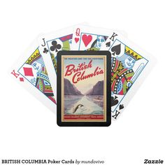 BRITISH COLUMBIA Poker Cards