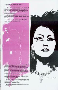 Mike Dringenberg - Sandman 21 pg 11 (And there is death), in SatyaChetri's Sandman Comic Art Gallery Room - 713180