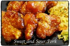 An easy baked sweet and sour pork. Serve this over some fried rice and you have a tasty meal that will be gone in no time!