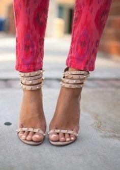 Studded Footwear