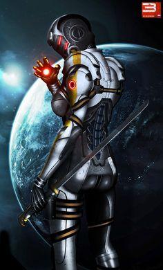 Mass Effect 3 Cerberus Phantom (2012) by ~RedLineR91
