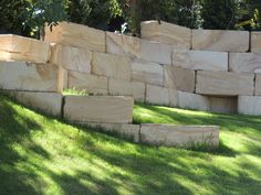 Australian Sandstone A Grade Landscape Blocks for Retaining Walls