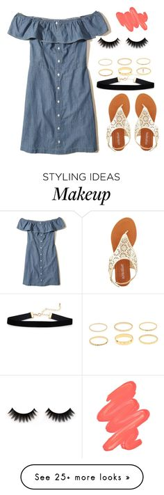 """""""Board"""" by gustavia5347 on Polyvore featuring Hollister Co., Olivia Miller and Obsessive Compulsive Cosmetics"""