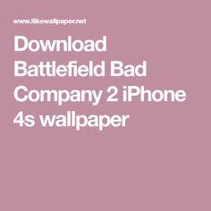 Download Battlefield Bad Company 2 iPhone 4s wallpaper