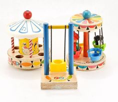 Vintage Fisher Price Little People Playground Toys Carousel, Chair Ride, Swing Fisher Price Toys, Vintage Fisher Price, Playground Toys, Classic Toys, Old Toys, Amusement Park, Little People, Vintage Toys, Childhood Memories