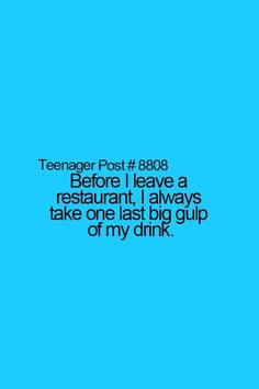 I thought I was the only one! :D