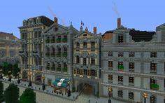 . Minecraft Skyscraper, Minecraft Bridges, Minecraft City Buildings, Minecraft Farm, Minecraft Structures, Minecraft Houses Blueprints, Minecraft Plans, Minecraft Construction, Minecraft Tutorial