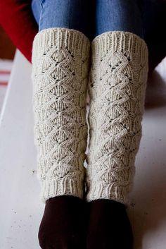 Ravelry: Lumi Legwarmers pattern by Milja Uimonen Knitted Gloves, Knitting Socks, Hand Knitting, Knitting Patterns, Crochet Leg Warmers, Crochet Slippers, Knit Crochet, Knit Picks, Boot Cuffs