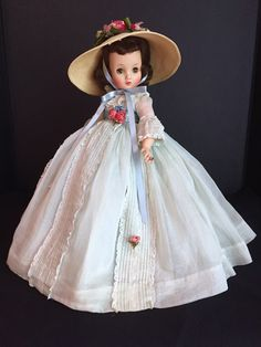 Dolls Dolls, Dollhouse Dolls, Forever My Girl, Vintage Madame Alexander Dolls, Gone With The Wind, Hello Dolly, Dollhouses, Childhood Memories, Flower Girl Dresses