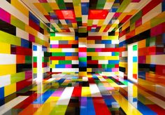 "LEGO / Brazilian artist Valentino Fialdini created a series photographs of bright rooms. With the sun streaming through windows and shadows cast on the walls, it almost seems as if you're looking at real rooms, but a closer look reveals that these spaces are, in fact, miniatures built with LEGO bricks by the artist himself. ""Nothing is out of place in these architectures made of plastic, the spectator is the central character of these spaces based on Reinassance perspective."