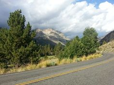 Driving down canyon