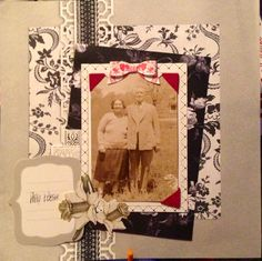 #annagriffininc  @Anna Griffin, Inc. My layout I just #made! <3 #scrapbook  #crafts #paper #crafts #foil #holiday #scroll #pretty