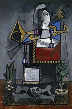 Monument aux espagnols morts pour la France - Picasso - Museo Reina Sofía - Madrid.