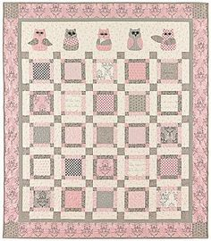 Hoos my Baby Quilt Pattern by Bunny Hill Designs