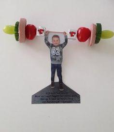 Gewichtheffer Bekijk de foto van joyce-buijze met als titel Originele en gezonde traktatie voor kinderdagverblijf of school! en andere inspirerende plaatjes op Welke.nl.