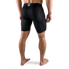 Active Dry Compression Pants - Black - Rise Black Hoodie, Black Pants, Barefoot Men, Knee Sleeves, Compression Pants, Sleeveless Hoodie, Intense Workout, Guys Be Like, Sport Pants