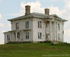 James Murray house in Rush County, Indiana ca. 1850
