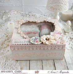 Shabby chic: Задание Мой уютный уголок♥ Altered Boxes, Decorative Boxes, Shabby Chic, Scrapbook, Blog, Home Decor, Decoration Home, Room Decor, Scrapbooking
