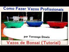 COMO FAZER VASOS DE BONSAI PROFISSIONAIS (TUTORIAL)- Bonsai Curso #45 - YouTube