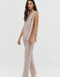 Browse online for the newest ASOS EDITION fringe & pearl embellished jumpsuit with wide leg styles. Shop easier with ASOS' multiple payments and return options (Ts&Cs apply). Asos Online Shopping, Online Shopping Clothes, Latest Fashion Clothes, Fashion Online, Embellished Jumpsuit, Occasion Wear, Jumpsuits For Women, Dress To Impress, Wide Leg