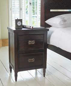 Keraton Carved Wooden Bedside Table from Lombok
