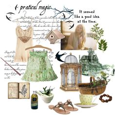 Practical Magic, created by cotton-tail on Polyvore. I LOVE everything here!