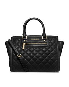 MICHAEL Michael Kors  Large Selma Top-Zip Satchel $398  This is going to be one of my next purchases. (Got it!)