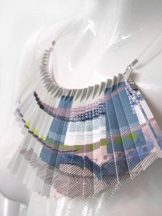 Manipulation Techniques, Fabric Manipulation, Paper Fashion, Fashion Art, Paper Installation, Paper Structure, Paper Shoes, Cut Out Art, Pop Up Art