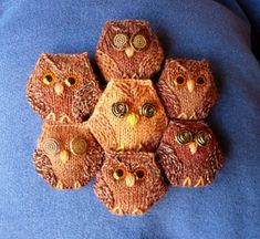 Hexiowls. Is it too much to make an entire blanket if these?