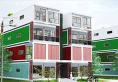 Imagini pentru blocuri din containere Multi Story Building, Case, Houses, Container Houses, Homes, Home, House, At Home