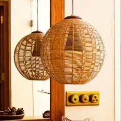 Orange Tree Brown Joel Hanging Lamp