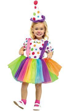 Big Top Fun Toddler Clown Costume #halloween #costumes #circus