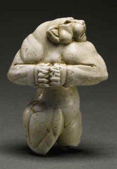 Lion of Elamits in Protoliterate period of Mesopotamia, 3000 AD