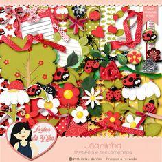 Kit Digital Joaninha http://www.artesdavikaloja.com/kits-digitais-1/kits-digitais/kit-digital-joaninha.html#