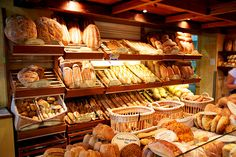 from   Behind the French Menu   by   Bryan G. Newman          Choose your bread.   The offerings in a good boulangerie, a baker's shop.  ...