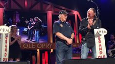 Music stars Trace Adkins, Charlie Daniels, Lee Greenwood, the Oak Ridge Boys and Mark Willis performed to celebrate the USO's 75th at the Grand Ole Opry.