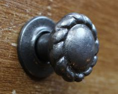 Unique Cabinet Knobs ~ Decorative Drawer Pull Handle Door Dresser ~ Shabby Chic Antique Rustic Metal Cast Iron Industrial ~ British Made