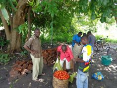 Mvuu Camp in Liwonde NP, Malawi support the local farmers by buying all their fresh produce for the camp meals