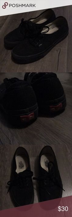 Black vans Classic black vans. Let me know if you have any questions. Accepting reasonable offers Vans Shoes Sneakers