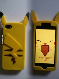 Funny pictures about Pikachu Phone Case. Oh, and cool pics about Pikachu Phone Case. Also, Pikachu Phone Case photos. Pokemon Phone Case, Cool Pokemon, Pokemon Fan, Pika Pokemon, Pokemon Stuff, Cute Phone Cases, Iphone Cases, Cute Pikachu, Pokemon Pictures