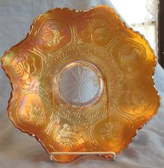 Carnival Glass Dragon & Lotus Bowl Fenton http://www.rubylane.com/item/716911-Ca8033/Carnival-Glass-Dragon-Lotus-Bowl#.T295b1Wc_ag.twitter via @rubylanecom
