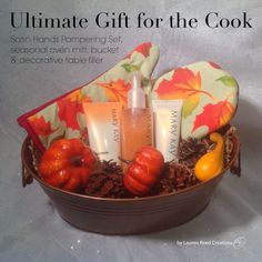 Ultimate Gift for the Cook *For any season or color. (available in Peach, Fragrance-Free, Honeydew, Vanilla Sugar, & Pomegranate) $41