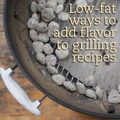 Low-Fat Ways to Add Flavor to Grilling Recipes. (Marinate Meat to Add Flavor) Healthy Grilling Recipes, Grilling Tips, Diabetic Recipes, Diabetic Foods, Grill Recipes, Healthy Food, Smokehouse Bbq, Diet Center, Diabetic Living